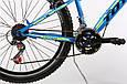 """Горный велосипед TOTEM MTB SHARK 26"""" Голубой/Желтый, фото 4"""