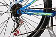 """Горный велосипед TOTEM MTB SHARK 26"""" 19"""" Голубой / Желтый, фото 5"""