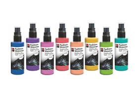 """Краски-спреи """"Fashion-Shimmer"""" от торговой марки """"Marabu"""""""
