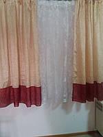 Комплект коротких штор