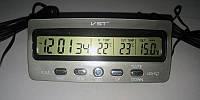 Автомобильные Часы с Термометром VST-7045V, фото 1