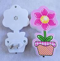 """Нічник світлодіодний """"Квітка"""", фото 1"""