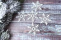 """Фетровий декор """"Сніжинка"""", 5,2 НГ див., фото 1"""