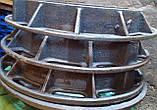 Люк чавунний каналізаційний тип Т, фото 2