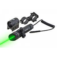 Лазерный целеуказатель. Лазерный прицел. Зелёный луч. JG1/3G (ЗЕЛ ЛУЧ). Для винтовок и пистолетов.
