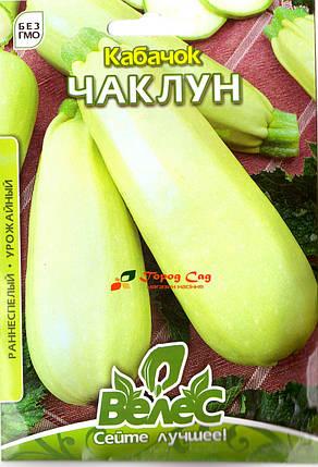 Семена кабачка Чаклун 15г ТМ ВЕЛЕС, фото 2
