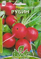 Семена редиса Рубин 15г ТМ ВЕЛЕС