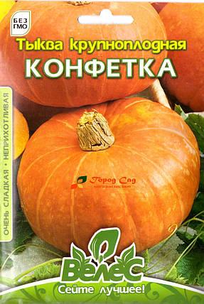 Семена тыквы Конфетка 10г ТМ ВЕЛЕС, фото 2