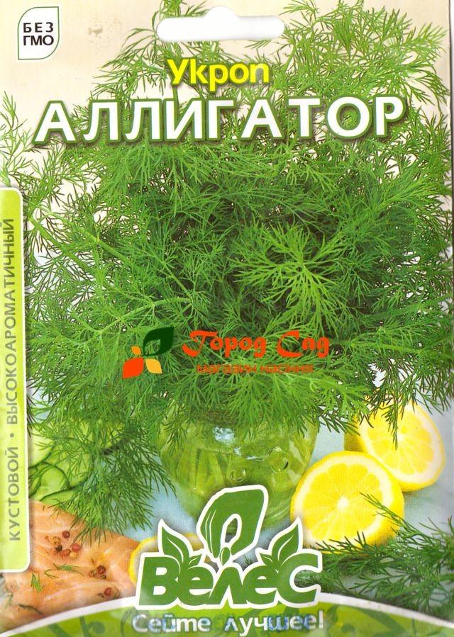 Семена укропа Аллигатор 20г ТМ ВЕЛЕС