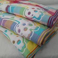 Детские двойные стёганные одеяла на льняной основе