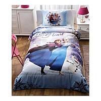 Детский комплект постельного белья Tac Frozen My Hero простынь на резинке