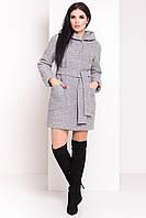 Пальто женское шерстяное зимнее