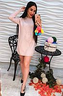 Женское теплое и стильное платье