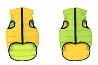 Одежда для собак Airy Vest XS 25, куртка, жилет салатово-желтый