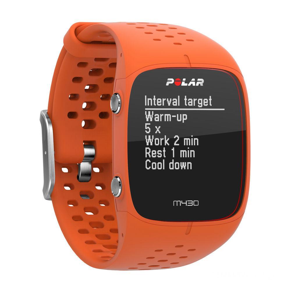Спортивний годинник-пульсометр Polar M430 Red