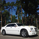 Прокат авто на свадьбу Белый Chrysler 300c, фото 2
