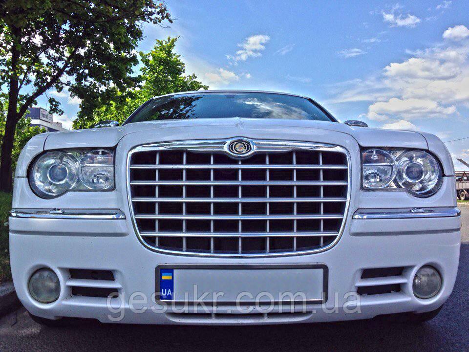 Прокат Машины на свадьбу Белый Chrysler 300c