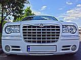 Прокат авто на свадьбу Белый Chrysler 300c, фото 3