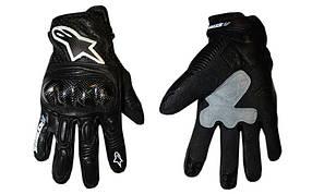 Мотоперчатки кожаные Alpinestars M-4544