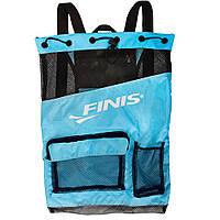 Сумка-рюкзак Finis Ultra Mesh Backpack Aqua Blue/Black 1.25.022.124