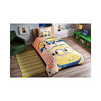 Детский комплект постельного белья Tac Minions Bello простынь на резинке