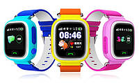 Детские умные смарт часы Smart Baby Watch Q90 с GPS трекером для отслеживания