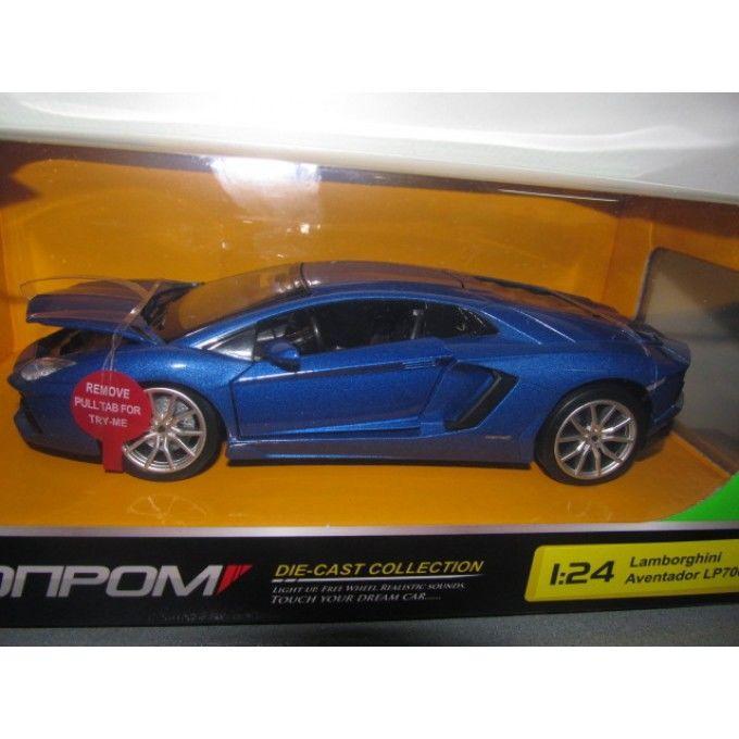 Металлическая машинка Lamborghini Aventador LP700-4