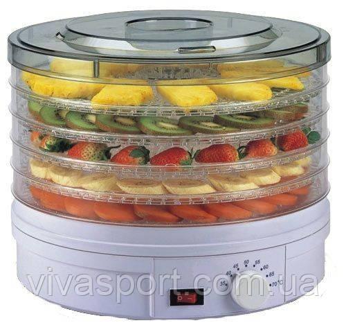 Электрическая сушилка фруктов и овощей с терморегулятором dryer - Supretto (Супретто)