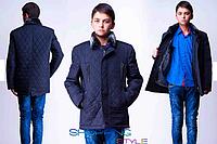 Пальто подростковое для мальчика на меховой подкладке,S-Style