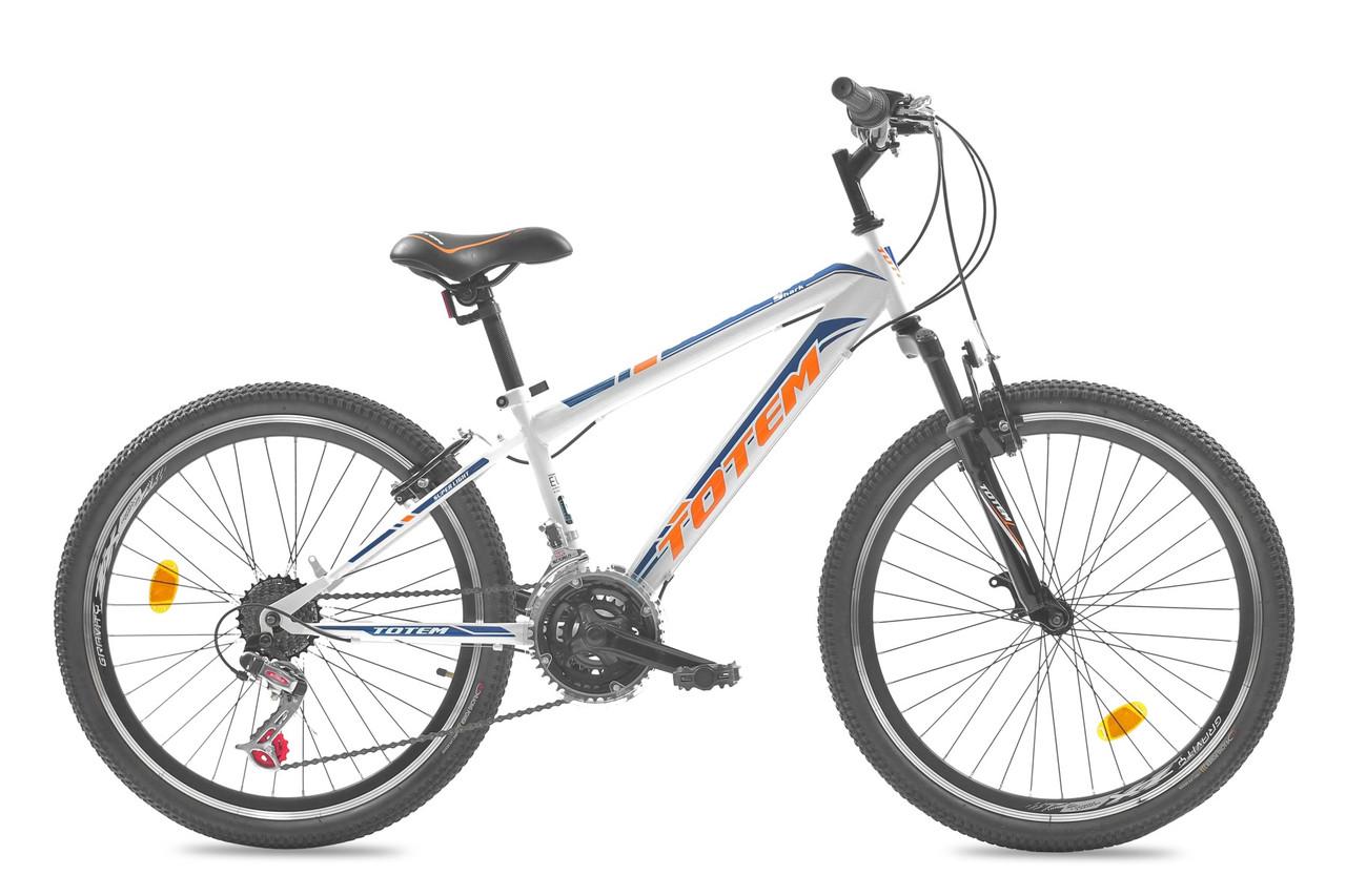 """Подростковый велосипед TOTEM SHARK  24"""" Белый"""