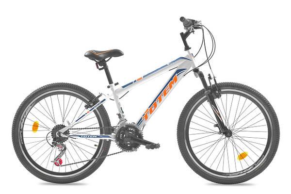 """Подростковый велосипед TOTEM SHARK  24"""", 13""""  Белый"""