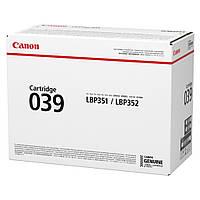 Тонер Canon 039 Black (0287C001)