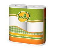 RUTA Бумажные полотенца Ecolo 2 рулона✵ Бесплатная доставка