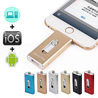 Usb flash/флешка 64 Gb для Iphone 5, 5S, 6, 6S, 6+plus, 7, 8, Ipad