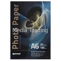 Бумага Tecno 10x15cm 180g 50 pack Glossy, Premium Photo Paper CB (PG 280 A6 CP50)