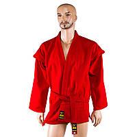 Самбовка куртка Mizano красная рост 160см. 500г/м2