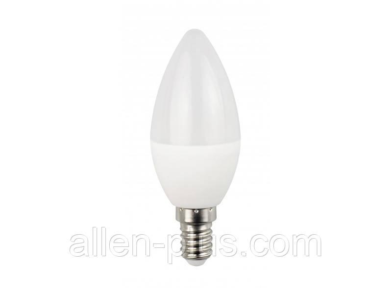 Лампа світлодіодна LED LUXEL ECO 045-NE С37 4000K (E14 / 6W)