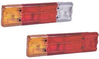 Фонари задние для грузового автомобиля MERCEDES узкие