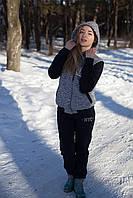 """Женский спортивный костюм на флисе """"Бомбер"""""""