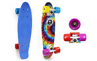 Скейтборд Penny Board TIE DYE FISH SK-4442-1