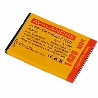 Аккумулятор Avalanche Samsung S5830, S5660 (EB494358VU)