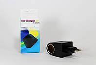 Адаптер прекуриватель FM модулятор / A-10 Car charge switch  250