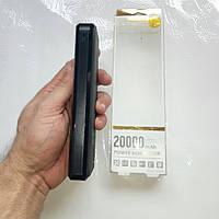 Зарядное устройство Power Bank REMAX Proda 20000 mAh LED дисплей 2 USB, фонарик