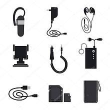 Аксесуари для мобільних телефонів, смартфонів, планшетів