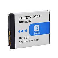 Аккумулятор SONY NP-BD1 3,6v 680mAh Li-Ion