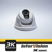 UHD-3K-31DI внутренняя 4MP видеокамера, угол обзора 160°, Ик 28метров