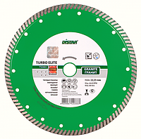Круг алмазный отрезной Distar Turbo Elite Aero (230x2.6x10x22.23 мм)✵ Бесплатная доставка