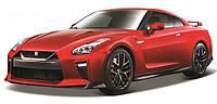 Автомодель - NISSAN GT-R (ассорти красный, белый металлик, 1:24)