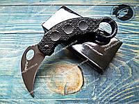 Нож складной X14 Керамбит Ворон Gray