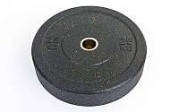 Блины (диски) проф. Бампер структурные с метал. втулкой отв. d-51мм RAGGY 25кг (резина)